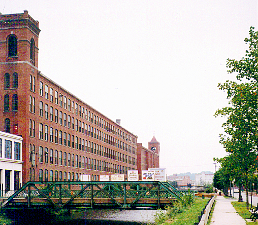 Lawrence mill building today