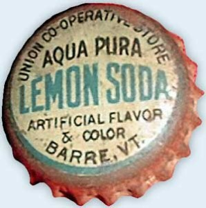 Lemon soda cap from Union Cooperative Store