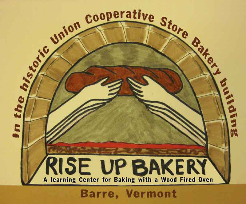 Logo of the Rise Up Bakery