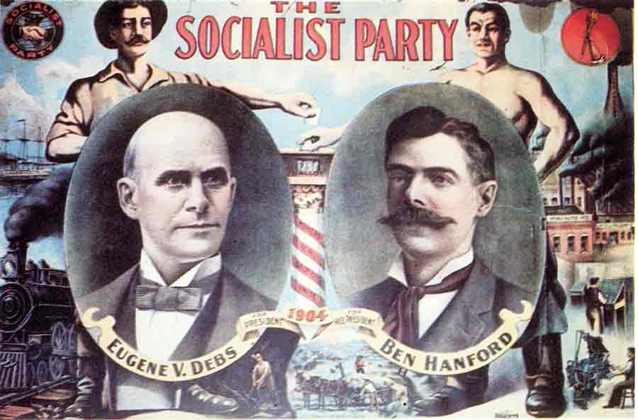 Socialist Party 1904 election poster