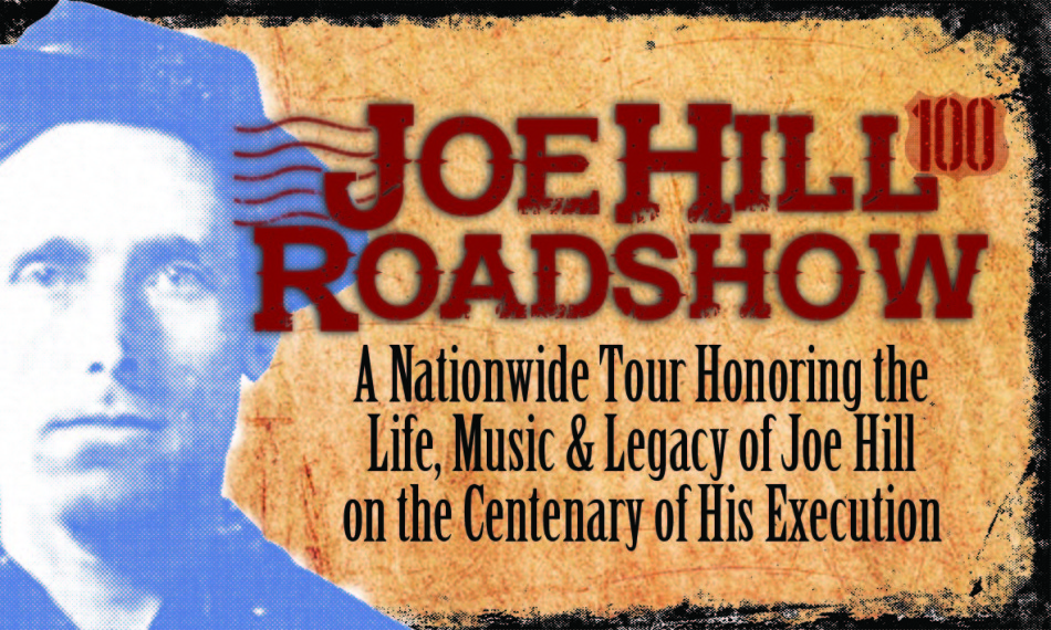 Joe Hill Roadshow poster