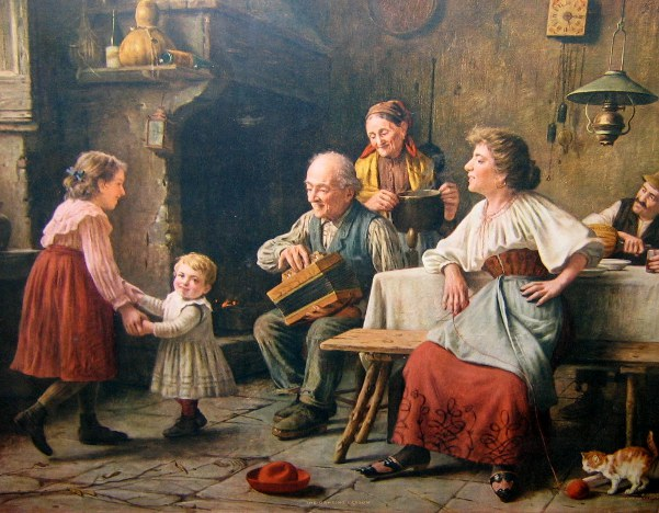 The Dancing Lesson by Giovanni Sandrucci