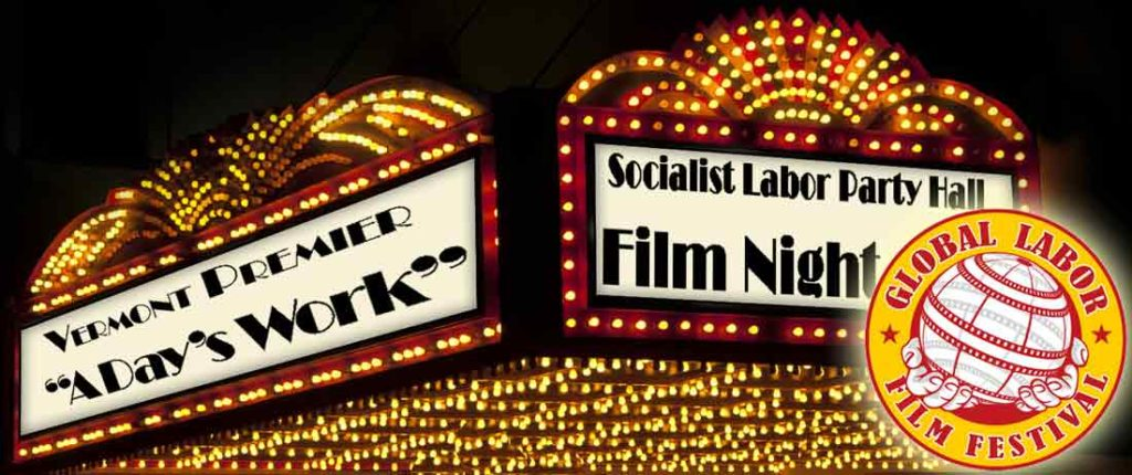 Global Labor Film Festival 2017 marquee