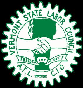 Vermont AFLCIO logo
