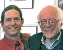 Lt. Governor David Zuckerman & Sen. Bernie Sanders