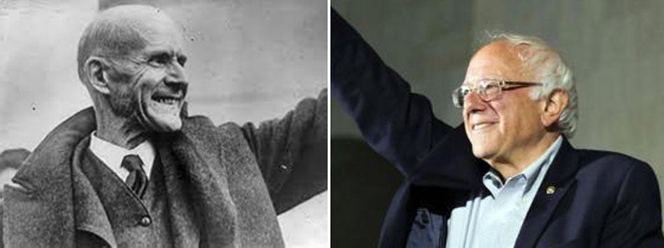 Eugene V Debs & Bernie Sanders