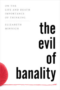Book Cover: The Evil of Banality