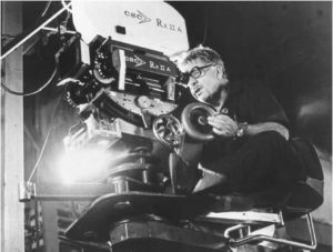 Martin Ritt on set