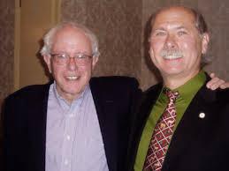 Bernie Sanders and Ed Stanak