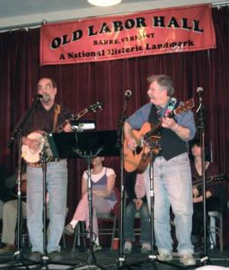 Anything Goes performing at the Old Labor Hall