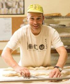 Randy George baking