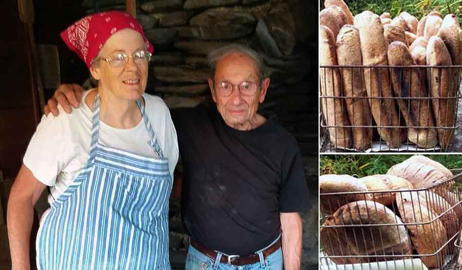 Helen & Jules Rabin and their bread