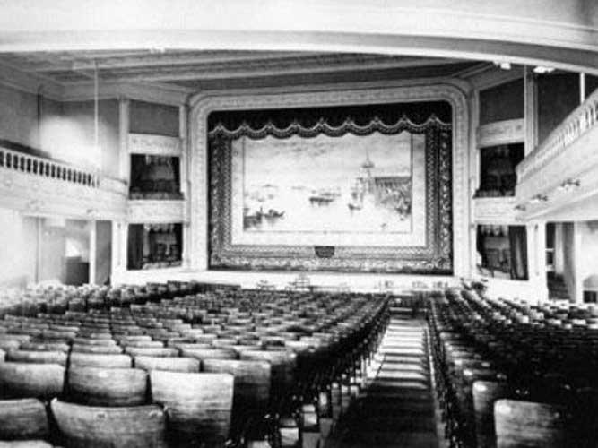 Barre Opera House auditorium