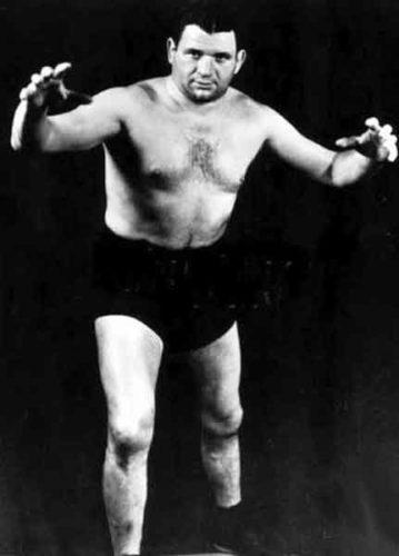 Harry Smokler Finkelstein, pro wrestler