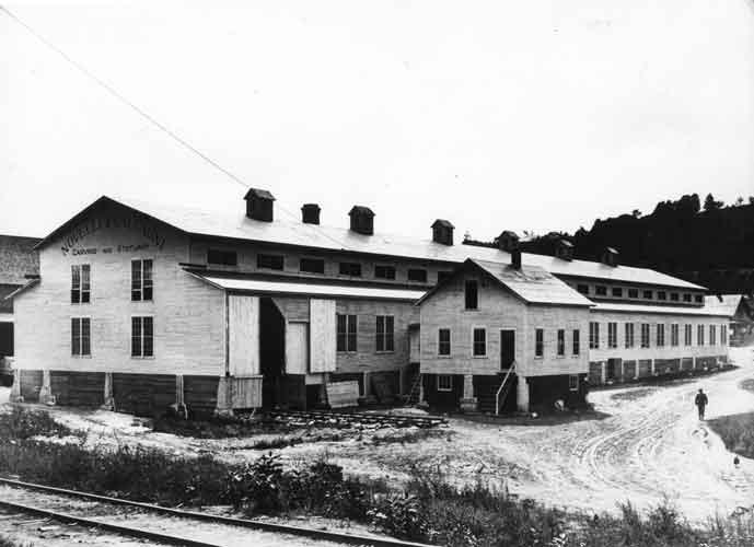 Novelli and Calgagni Granite shed