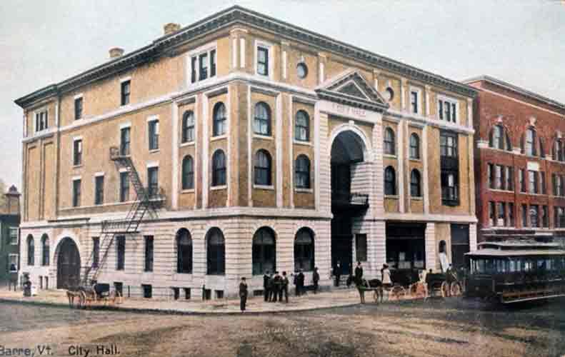 Barre Opera House facade