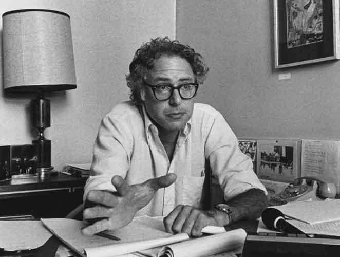 Bernie Sanders, 1981