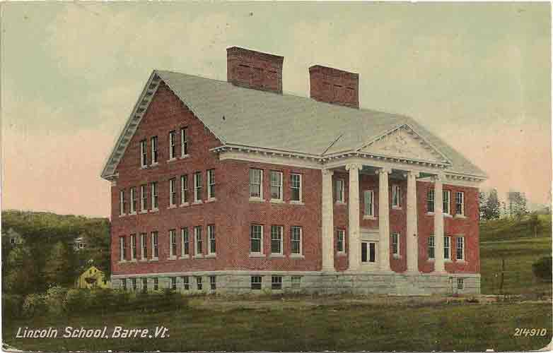 Postcard of Lincoln School