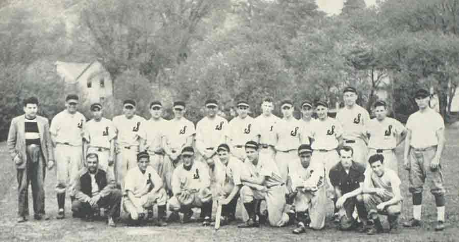 1950 baseball team from Spaulding High School