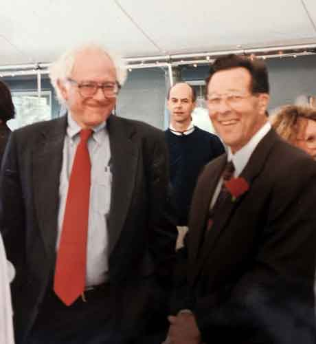 Bernie Sanders and Tom Davis