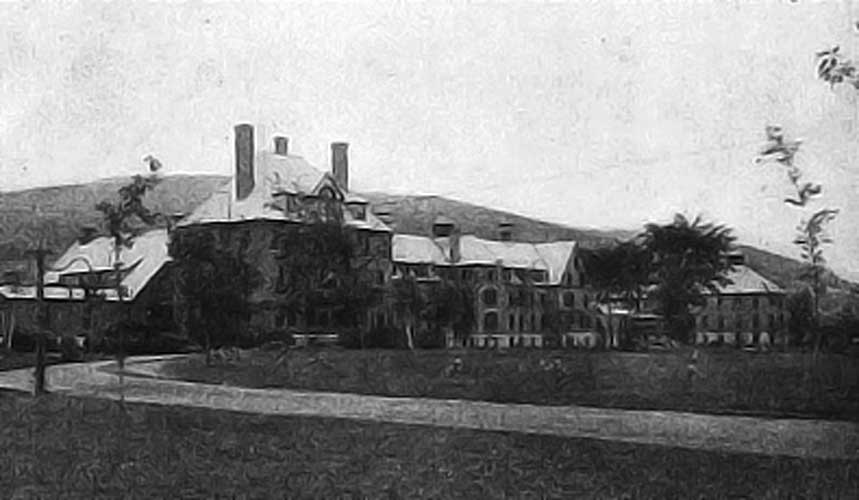 Vermont State Hospital in Waterbury